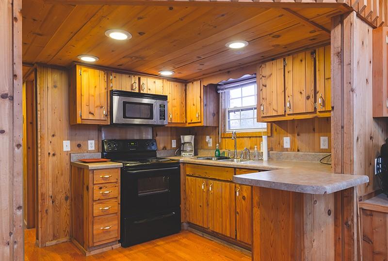 Double chalet kitchen